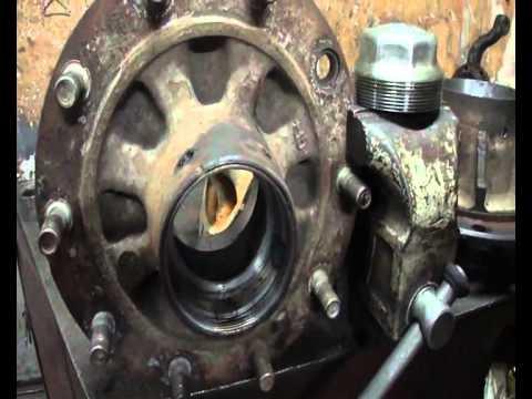 курс теории и практики восстановления колесных ступиц
