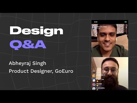 Design Q&A With Abheyraj Singh, Designer At GoEuro Berlin