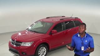 Used, 2017, Dodge Journey, Red, SXT, Test Drive, Review, For Sale - G95669TR