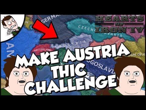 Hearts of Iron 4 hoi4 Austria Challenge Make it THIC