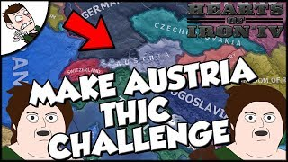 Hearts of Iron 4 hoi4 Austria Challenge Make it THIC