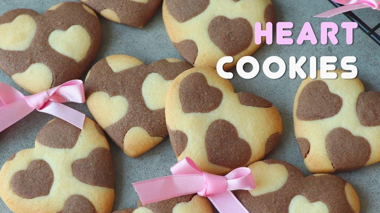 발렌타인데이 하트쿠키만들기 ❤️Valentine's Day Heart Cookies ❤️عيد الحب قلب الكوكيز