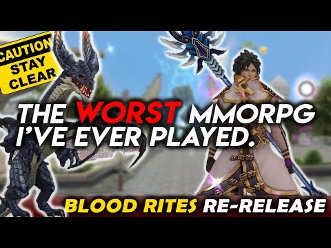 This Old MMORPG Just CAME BACK! And It's Horrible. [Blood Rites 2019]