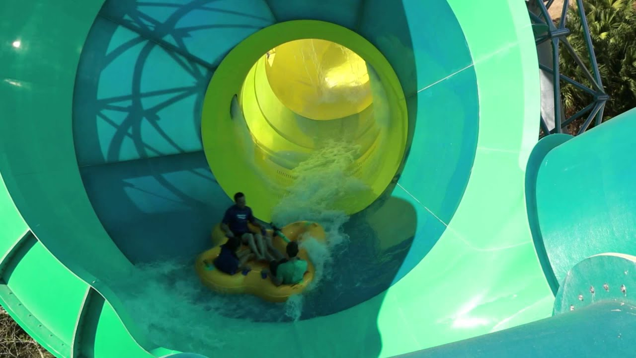 Adventure Island Tampa: Colossal Curl - Final Construction Update