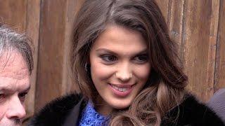 EXCLUSIVE:  Miss Universe Iris Mittenaere attending C a Vous tv show in Paris