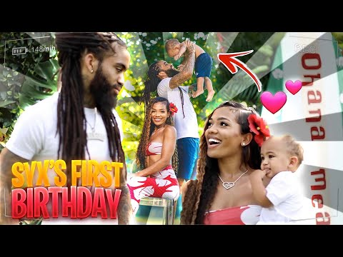 INSIDE LOOK!!!  SYX'S FIRST BIRTHDAY! **PT1**