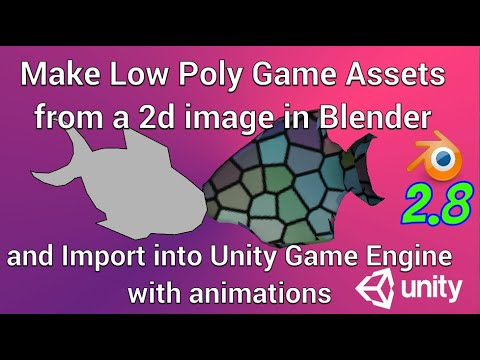 Make a Low Poly Model from a 2d Picture in Blender, Import