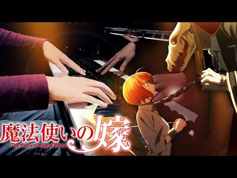 """Ancient Magus' Bride - """"Here"""" - JUNNA「魔法使いの嫁」OP - SLS Piano Cover"""