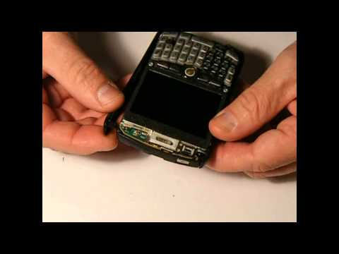 Blackberry 8310 Curve. Full Reassembly from full tear down.