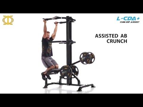 Powertec Levergym Chin/Dip Assist Plus