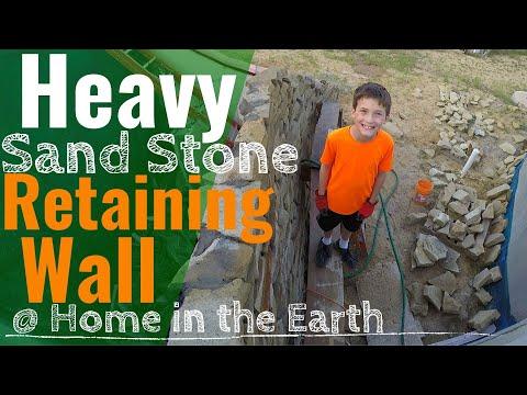 34.0 Retaining Wall