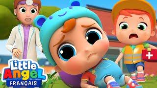 J'ai un Gros Bobo - Bébé Louis se fait mal - Comptines pour Bébé| Little Angel Français