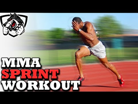 Running Sprint Workout for MMA/BOXING Stamina