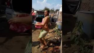 Very funny Dance by...... MATHURA.... Pandit ji.....