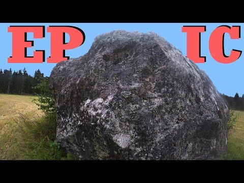EPIC Treasures Around A BIG Rock! Metal Detecting Finland