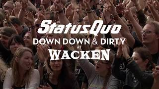 Смотреть клип Status Quo - Roll Over Lay Down