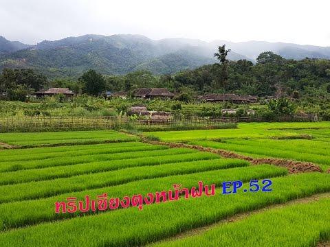 เที่ยวเชียงตุงหน้าฝน EP.52 วิวพันล้านนาขั้นบันไดสีเขียวสายน้ำไหลผ่านหมู่บ้านเก่าแก่และไมตรีจิตชาวไต