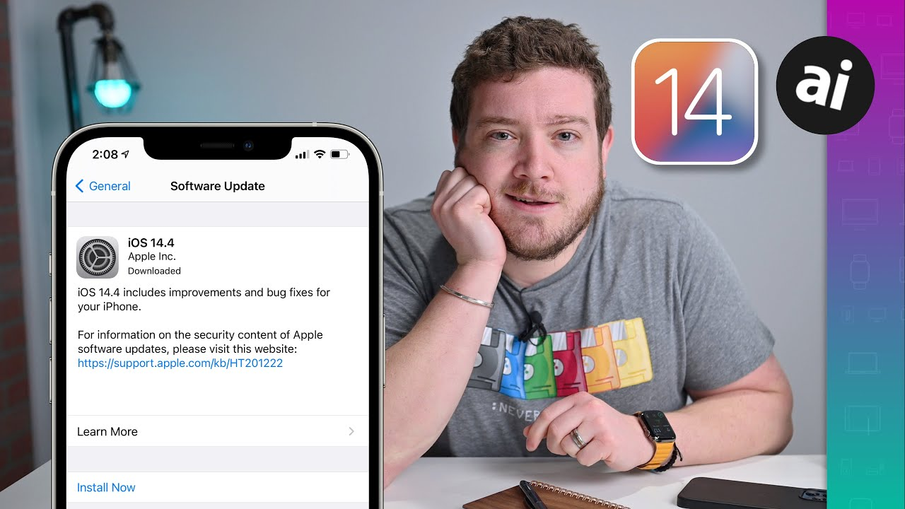 iOS 14.4 is out Now! Here is Everything new in the iOS 14.4 Update!