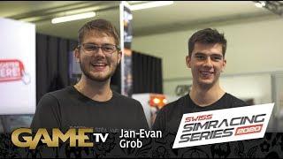 Game TV Schweiz - Jan-Evan Grob | Fotograf NJ Visuals | SWISS SIMRACING SERIES