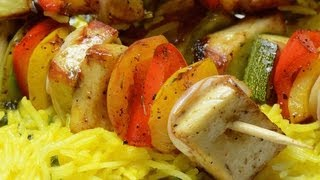Vegetable Shashlik  - By Vahchef @ Vahrehvah.com