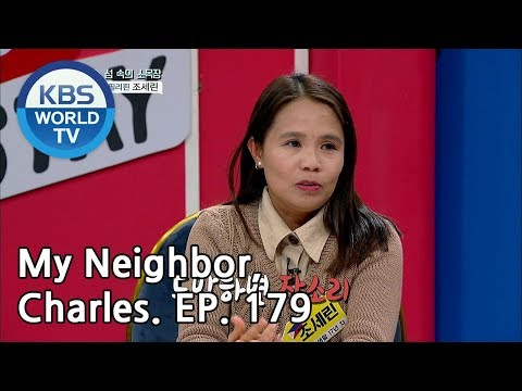 My Neighbor, Charles | 이웃집 찰스 Ep179/ Serin From The Philippines Lives In An Island [ENG/2019.03.12]