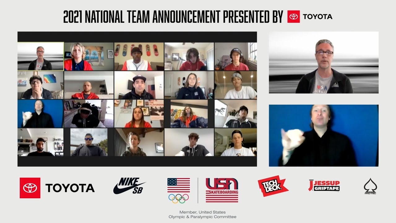 USA National Team Announcement.