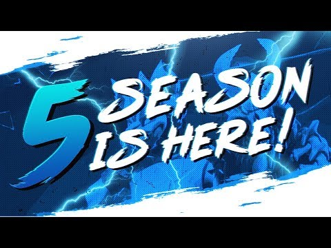 IT'S FINALLY HERE!! MY FIRST WIN OF SEASON 5! (Fortnite BR Full Match)