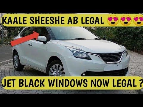 JET BLACK WINDOW | CAR BLACK TINT WINDOW | UV CUT GLASSES || अब INDIA में LEGAL