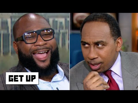 Stephen A. and Marcus Spears argue about LSU vs. Alabama | Get Up