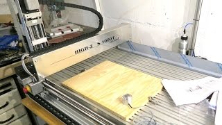 Unboxing of a High Z S-1000T CNC portal