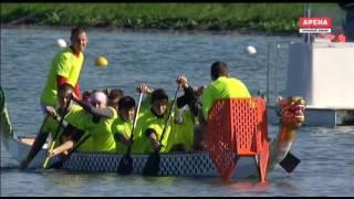 Чемпионат мира по гребле на лодке дракон МОСКВА
