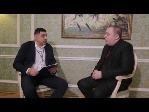 """ד""""ר ולדי דבוייריס מתראיין בכנס ניהול ושיווק רפואת שיניים במוסקבה (2017)"""