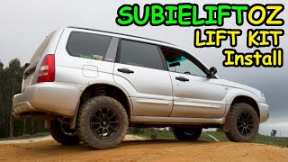 Offroad Forester Project Ep2.  Lift Kit install