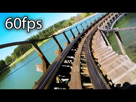 Raven front seat on-ride HD POV @60fps Holiday World