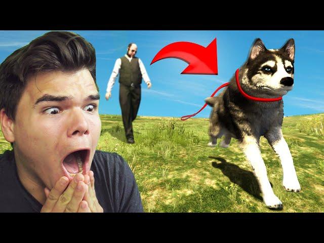 Playing GTA 5 As An ANIMAL!