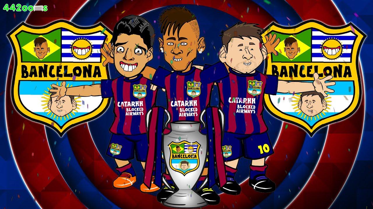 CHAMPIONS👑 Barcelona Champions League Final 2015 (3-1 ...