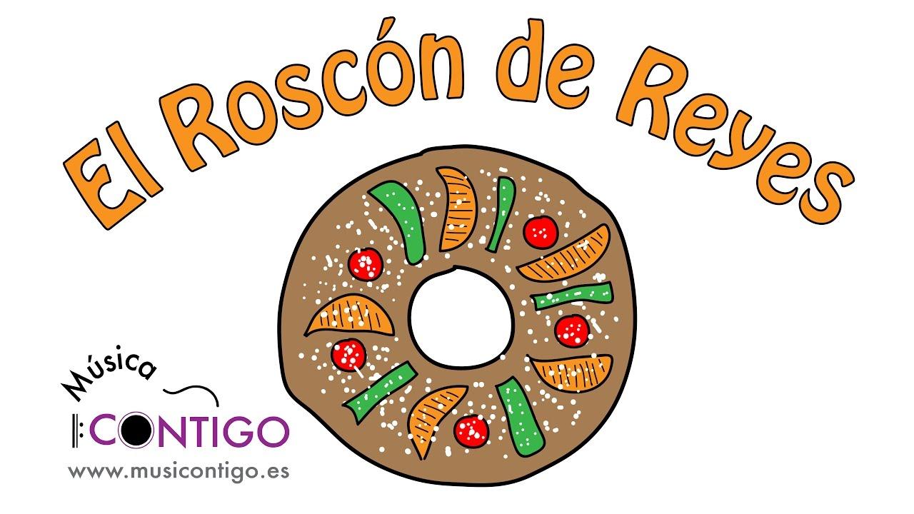 Dibujo De Rosca De Reyes Para Colorear: Canción Del Roscón De Reyes: Receta Musical, Orígenes Y