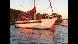 SAILING SAPORE DI MARE  -  A steel boat, built entirely by ourself