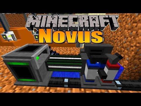 Wasser in Wasserstoff und Sauerstoff trennen! - Minecraft NOVUS #70