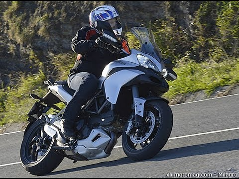 Ducati Multistrada 1200 S Touring : le plus roadster des trails !