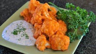 Cauliflower Buffalo Wings ♡ Vegan & Gluten-free!