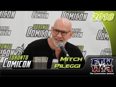 Mitch Pileggi The XFiles Toronto ComiCon 2018 Full Panel