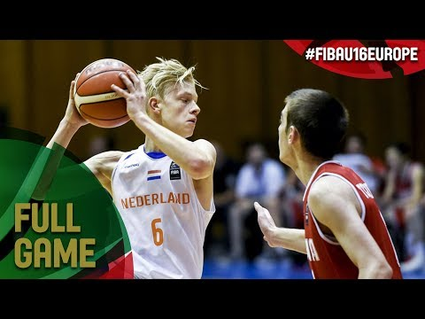 Netherlands v Georgia - Full Game - Semi-Final - FIBA U16 European Championship 2017 - DIV B