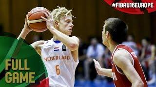 Netherlands v Georgia - Full Game - Semi-Final - FIBA U16 European Championship 2017 - DIV B