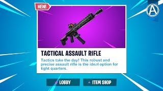 "NEW FREE JOHN WICK REWARDS in Fortnite! NEW ""TACTICAL ASSAULT RIFLE"" Gameplay (Fortnite Update LIVE)"