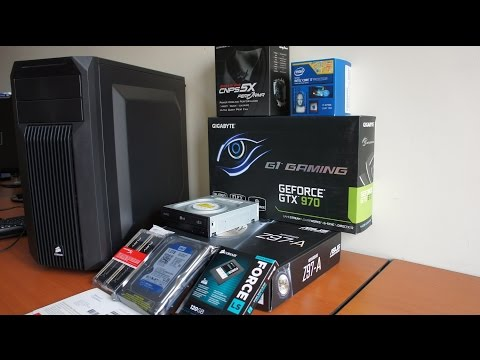 Intel I7 4790K + GTX 970 PC Pc Build