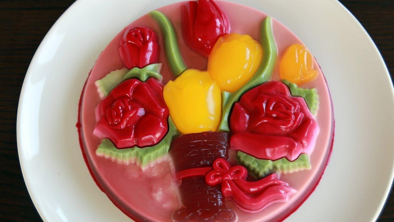 The Jello Cake Recipe: Rau Câu Khuôn (Recipe)