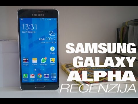 Samsung Galaxy Alpha Video Recenzija