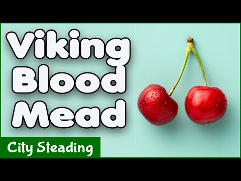 How to make Mead - Viking Blood - Cherry Mead