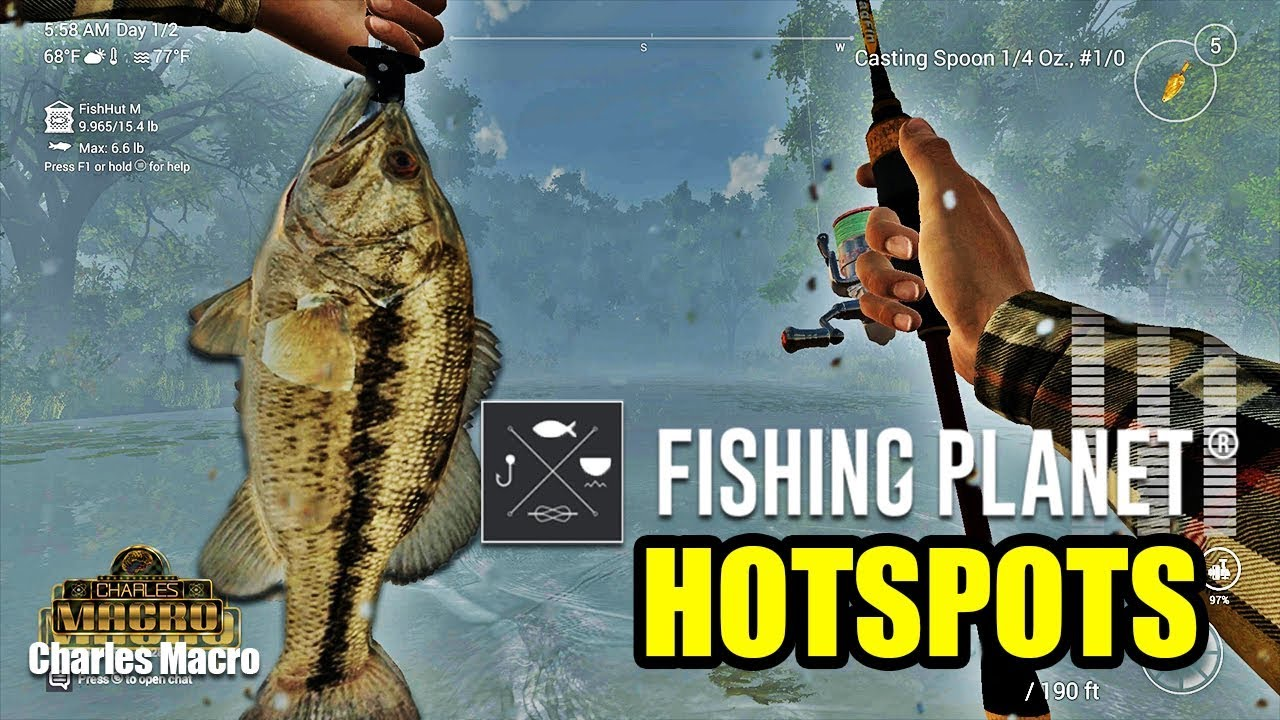 BEST HOTSPOT | LONE STAR LAKE | SPOTTED BASS | MONEY MAKING XP GRIND |  Fishing Planet | Ep  2